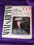 Revista Manuscriptum nr 1 1976 (f3117