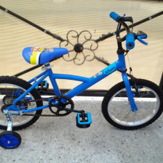"B'Twin Decathlon / Louppio /  bicicleta copii 16"" (6-8 ani), 1"