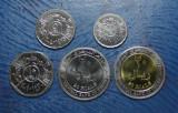!!! YEMEN - LOT  1 + 5 + 10 + 20 + 20  RIALS 1993-2009  -  KM 25 la 29a  -  UNC