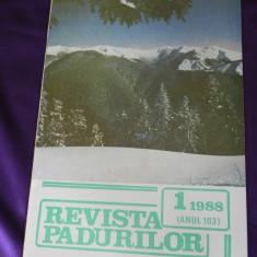 Revista Padurilor 1988 nr 1 (f3172