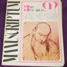 Revista Manuscriptum nr 3 1976 (f3118