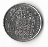 Moneda 1 franc 1960 - Monaco, Europa