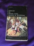 George Oprescu - Manual de istoria artei secolul al XVIII-lea (f3126