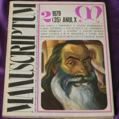 Revista Manuscriptum nr 2 1979 (f3121