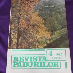 Revista Padurilor 1987 nr 4 (f3171