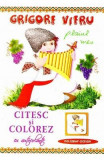 Citesc si colorez cu autocolante: Plaiul meu - Grigore Vieru, Grigore Vieru