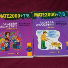 Mate 2000 Algebra geometrie vol 1-2 clasa a VII-a Dan Branzei, Anton Negrila