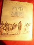 George Cosbuc - Nunta Zamfirei -1958 Ed.Tineretului ,ilustratii Florica Cordescu