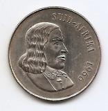 Africa de Sud 1 Rand 1966-(SUID AFRIKA) Argint 15g/800, MM1, KM-71,2 (1)