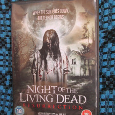 NIGHT OF THE LIVING DEAD RESURRECTION (1 FILM DVD ORIGINAL GROAZA / HORROR), Engleza