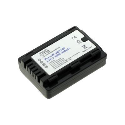 Acumulator pentru Panasonic VW-VBY100 850mAh ON277 foto