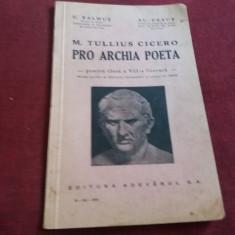 C BALMUS - M TULLIUS CICERO PRO ARCHIA POETA