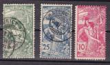 Elvetia  1900  UPU  MI 71-73  stampilate   w51, Nestampilat