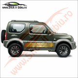 Sticker Splash Off Road Nissan Navara - Sticker Auto Dim: 60 cm. x 10.2 cm.