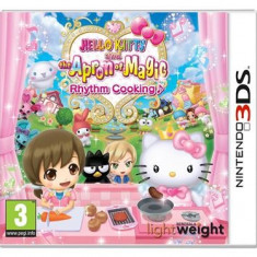 Hello Kitty And The Apron Of Magic Rhythm Cooking Nintendo 3Ds