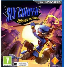 Sly Cooper Thieves In Time Ps Vita