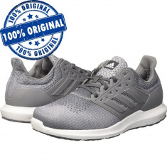 Pantofi sport Adidas Solyx pentru barbati - adidasi originali - alergare, 42, 43 1/3, 44, Gri, Textil