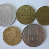 Romania (4): 5 Lei 1978, 20 Lei 1991, 1992, 1993, 100 Lei 1994