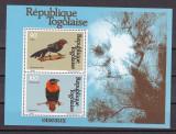 Togo 1981  fauna  pasari  MI  bl.176   MNH  w51, Nestampilat