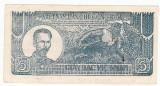 VIETNAM NORD 5 dong 1948 aUNC fond verde/maro P-17