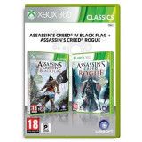 Assassin's Creed 4 Black Flag Si Assassin's Creed Rogue Compilation Xbox360, Ubisoft