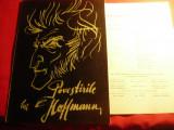 Program Opera Romana 1968- Povestirile lui Hoffmann ,ilustratii Ion Ipser ,12+4p