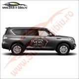 Toyota Dakar 4X4 Rally Sport - Sticker Auto Dim: 30 cm. x 21.3 cm.
