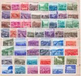 Turcia  1958/60  vederi  orase  serie completa  134  valori   MNH    w51, Nestampilat