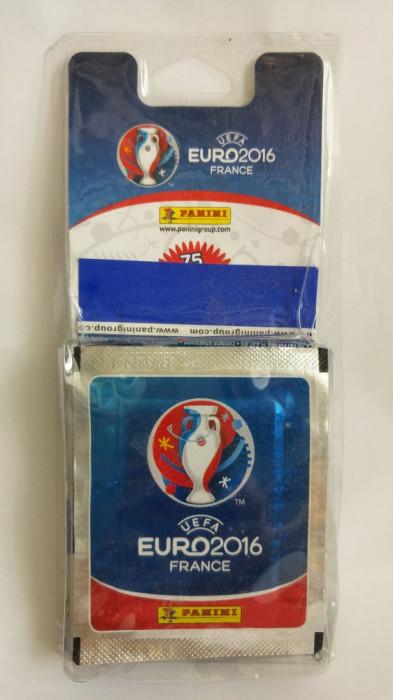 Pachet stickere Panini Euro 2016 UEFA France 17 plicuri = 85 surprize stickere