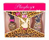 Apa de toaleta Playboy Play It Wild For Her Dama 30ML Edt 30ml + 250ml Shower Gel