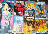 WOLVERINE (Marvel comics)-Lot 16 reviste benzi desenate