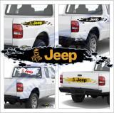Off Road Dakar Jeep - Sticker Auto Dim: 60 cm. x 12 cm.