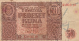 Croatia 50 Kuna 26.05.1941   P.1a  F-VF