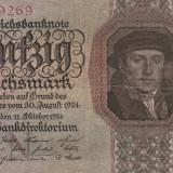 Germania  50 Reichsmark 11.10.1924 P.177  VG