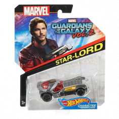 Masinuta Hot Wheels Car Marvel Guardians Of The Galaxy Vol.2 Star Lord Sling Shot, Mattel