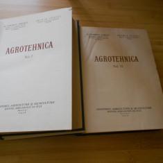 G. IONESCU-SISESTI--AGROTEHNICA - 2 VOL. - 1958