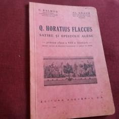 C BALMUS - Q HORATIUS FLACCUS SATIRE SI EPISTOLE ALESE