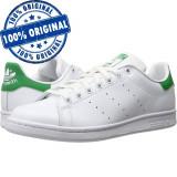 Pantofi sport Adidas Originals Stan Smith pentru barbati - originali - piele, 44 2/3, 45 1/3, Alb, Piele naturala