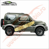Sticker Splash Off Road Suzuki Vitara - Sticker Auto Dim: 60 cm. x 10.8 cm.