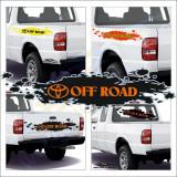 Off Road Toyota - Sticker Auto Dim: 50 cm. x 12 cm.