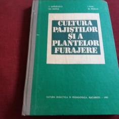 C BARBULESCU - CULTURA PAJISTILOR SI A PLANTELOR FURAJERE