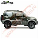 Nissan Navara Dakar 4X4 Rally Sport - Sticker Auto Dim: 30 cm. x 21.3 cm.