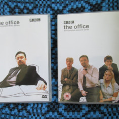 THE OFFICE (BBC - 2 SEZOANE COMPLETE, 2001-2003) - 3 DVD-uri - STARE IMPECABILA!, Engleza