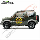 Sticker 4X4 Off Road Nissan Navara - Sticker Auto