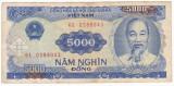 VIETNAM NORD  5000 dong  1991   VF   P-108
