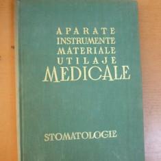 Stomatologie aparate instrumente materiale utilaje medicale Bucuresti 1967