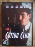 Cotton Club-regia Francis Ford Coppola,cu Richard Gere,Bob Hoskins,Nicolas Cage, DVD, Romana, independent productions