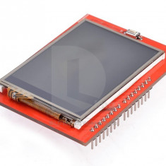ecran display lcd tft shield arduino uno mega leonardo due 2.4'' touchscreen