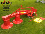 Cositoare rotativa cu tamburi 1.35m