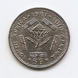 Africa de Sud 5 Cents 1961- Argint 2,83g/500, KM-59 (1)